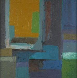 Yellow Window (2012) - Oil on board 45.5 x 45.5cm