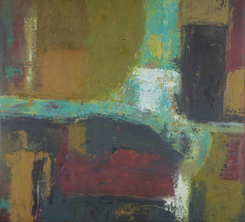 Interior 2-2012 - Oil on canvas 56x61cm