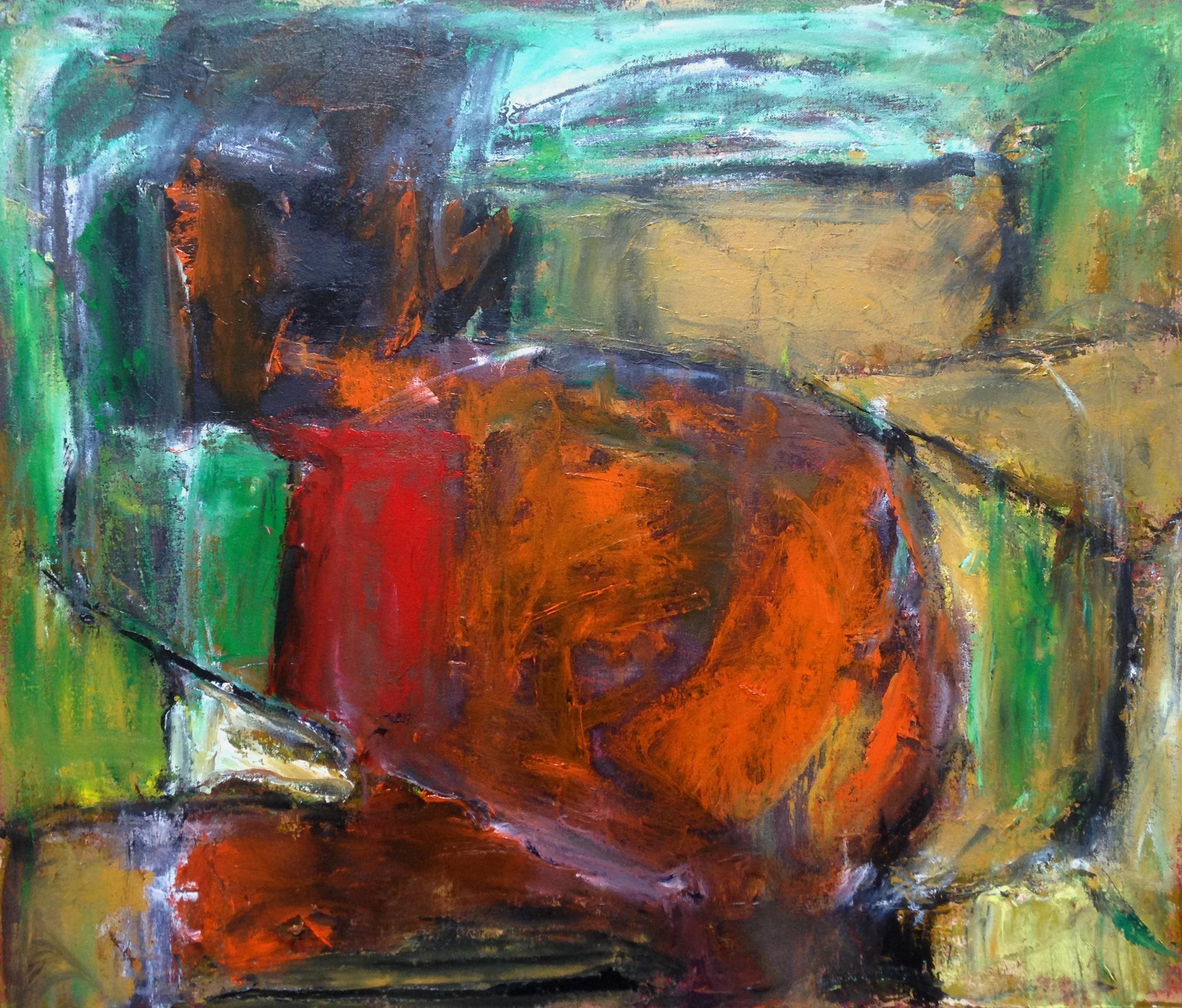 Sacrifice - Oil on canvas 66x56cm